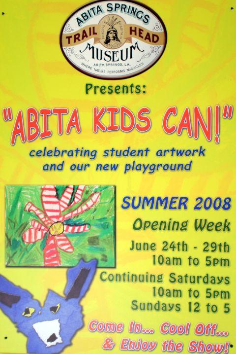 Abita Kids Can Poster