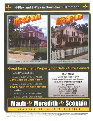 Hammond, LA Multi Family Property For Sale 1