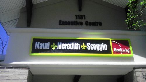Mauti Meredith Scoggin Office Sign