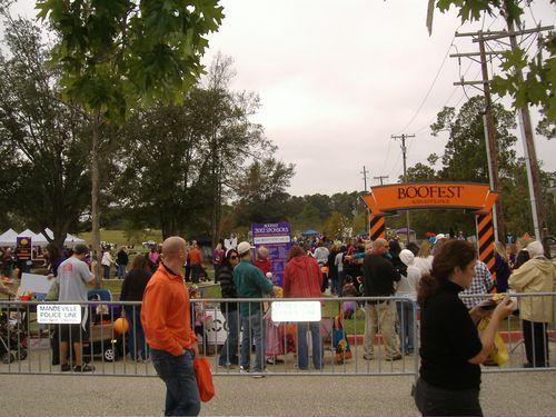 2012 BooFest Entrance