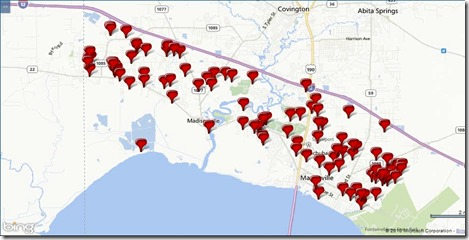 101 Homes sold in Mandeville, Madisonville, LA, May 2014