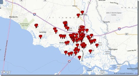 76 Homes Sold, February 2014 in Slidell, Pearl River, and Lacombe, LA